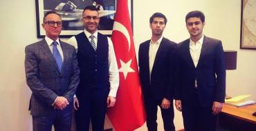 Official visit of ASB Board of Directors Members to the Consulate of Turkey in Barcelona.