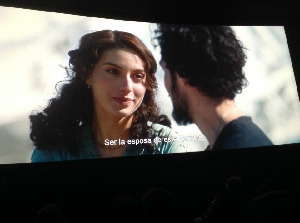 """""""Əli və Nino"""" filmi Barselonada nümayiş etdirilib."""