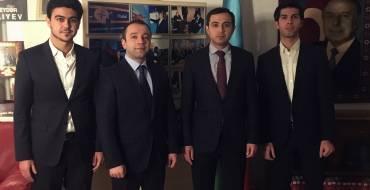 Meeting of ASB Board of Directors Members with the Ambassador of Azerbaijan in Madrid.