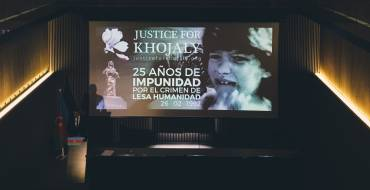 Justice for Khojaly Campaign in Barcelona.