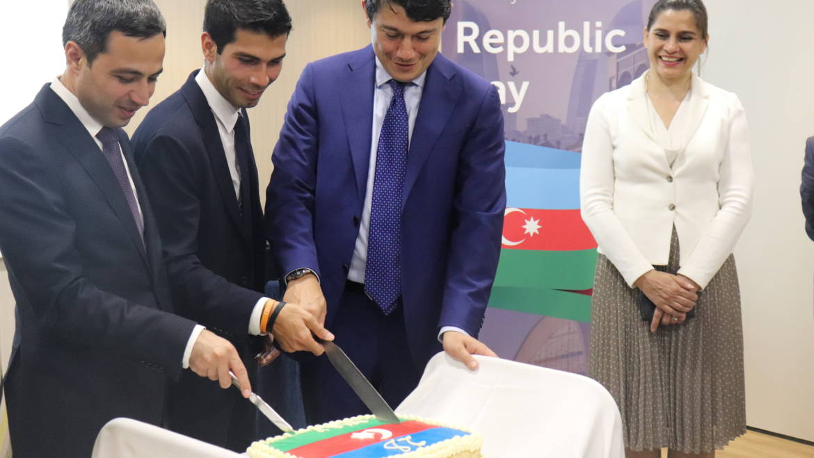 "An event titled ""The Republic Day of Azerbaijan – 101 years"" was held in Barcelona."